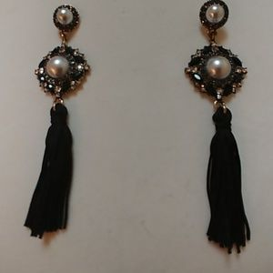 Beautiful Tassel Statement Earrings